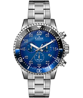 10227-3NBUM-BUBN Chronorally-S 44mm Swiss Made Sports Chronograph