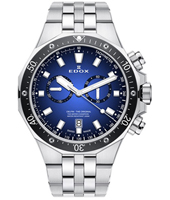 10109-3M-BUIN Delfin 43mm Swiss Made Chronograph Diver