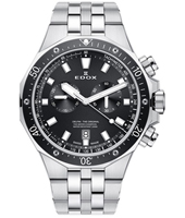 10109-3M-NIN Delfin 43mm Swiss Made Chronograph Diver