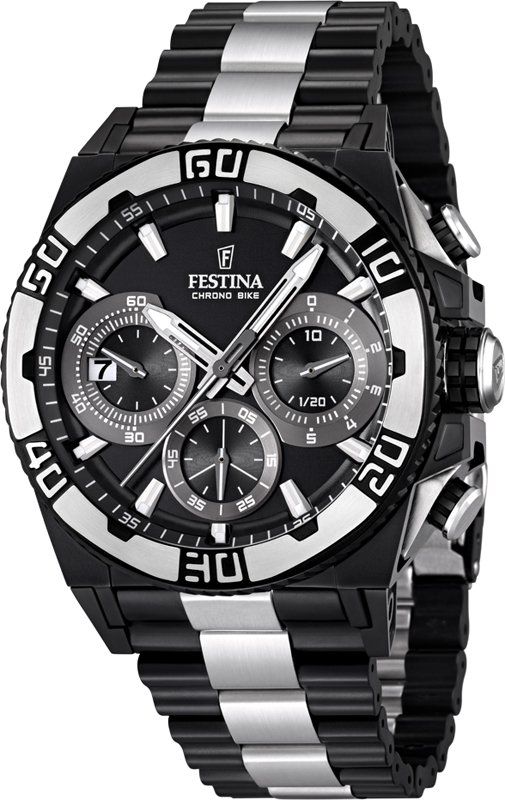 montre festina f16660 1 chrono bike 2013 black limited. Black Bedroom Furniture Sets. Home Design Ideas