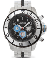 Metal Chrono Series 48mm Large Steel Chronograph Diver