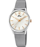 18408/1 Revival 30.50mm Retro look Bicolor ladies quartz watch