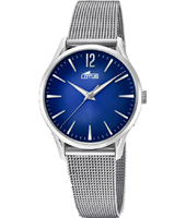 18408/3 Revival 30.50mm Retro look silver ladies quartz watch