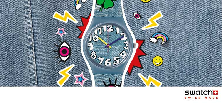 Montres Swatch Think Fun
