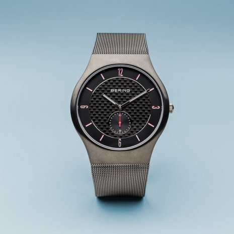 Dark Grey Mens Watch Collection Automne-Hiver Bering