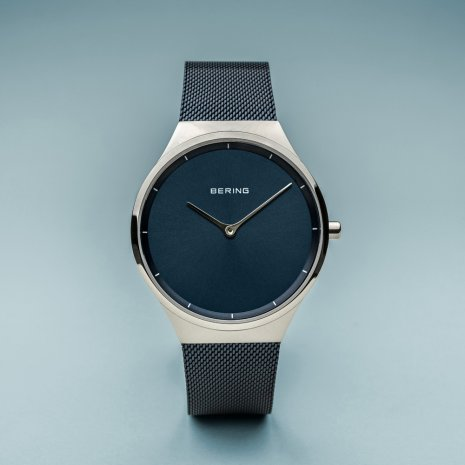 Blue gents design watch Collection Printemps-Eté Bering