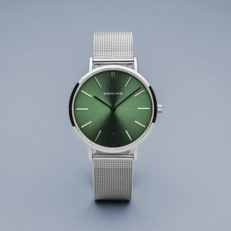 Stainless steel minimalistic ladies quartz watch Collection Automne-Hiver Bering