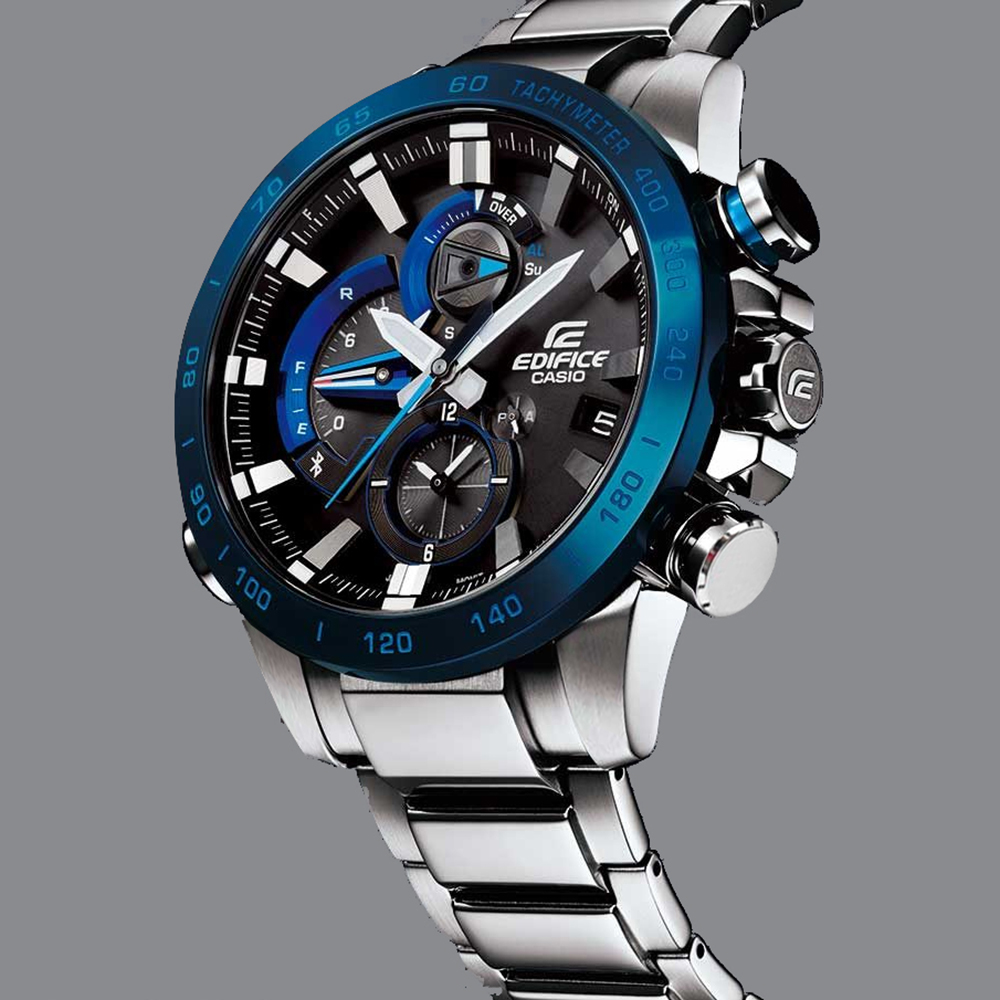 casio edifice bluetooth eqb 800db 1aer bluetooth connected montre ean 4549526163166 masters. Black Bedroom Furniture Sets. Home Design Ideas