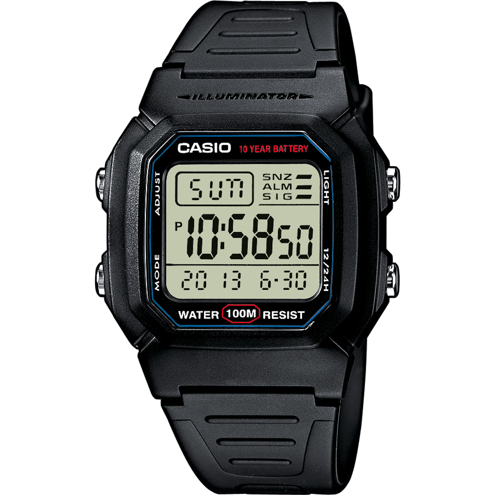 4b24c8873e70 Casio Sport W-800H-1AVES watch • EAN  4971850437253 • Masters In Time