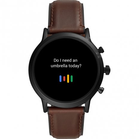 Black gen 5 smartwatch Collection Automne-Hiver Fossil