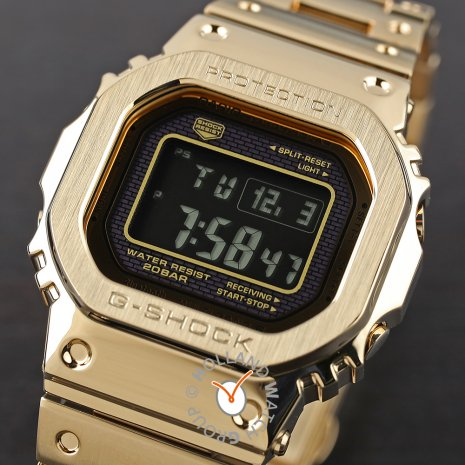 Gold Square Digital Watch Collection Printemps-Eté G-Shock