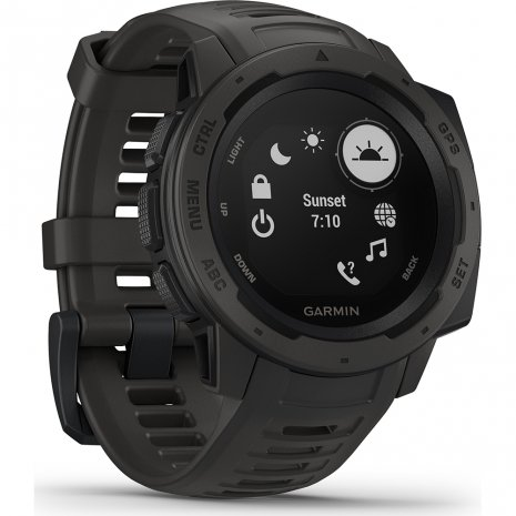 Robust GPS Smartwatch Graphite Collection Printemps-Eté Garmin