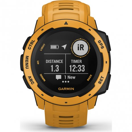 Garmin montre jaune