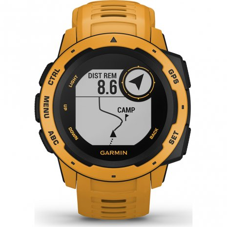 montre jaune Smart Digital