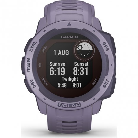 Rugged solar GPS outdoor smartwatch Collection Printemps-Eté Garmin