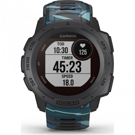 Solar GPS outdoor smartwatch with watersports functions Collection Printemps-Eté Garmin