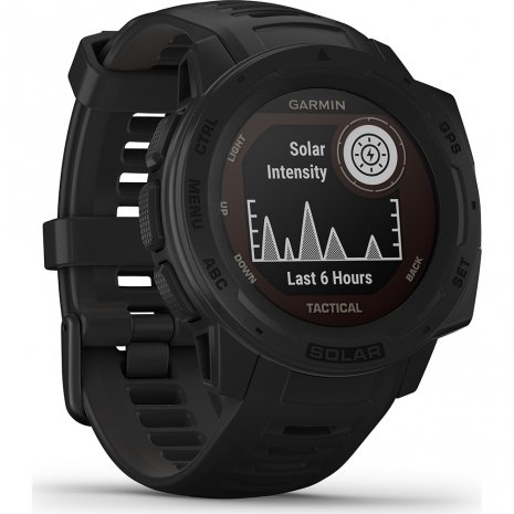 Solar GPS outdoor smartwatch with military functions Collection Printemps-Eté Garmin