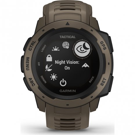 Garmin montre Marron