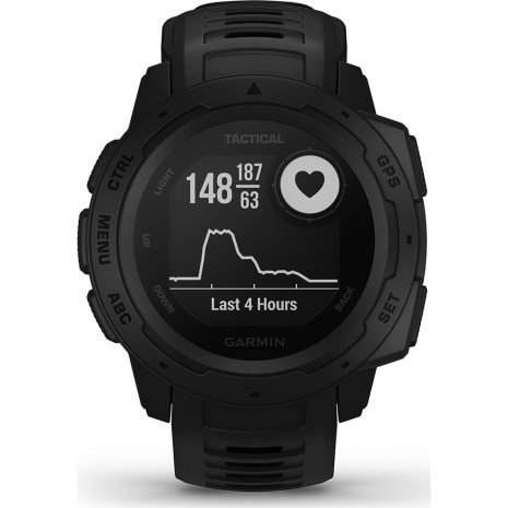 Robust GPS Smartwatch Black Collection Printemps-Eté Garmin