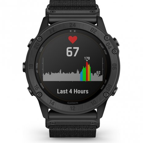 Tactical solar GPS smartwatch with stealth functionality Collection Printemps-Eté Garmin