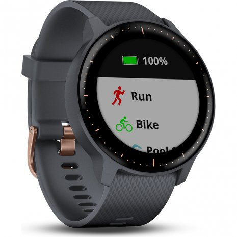 GPS Smartwatch with heartrate monitor Collection Printemps-Eté Garmin