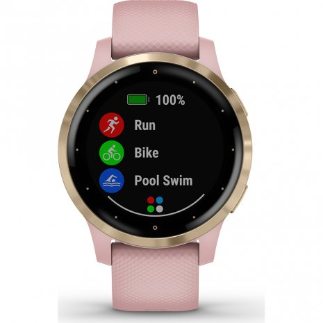 Garmin montre Rose