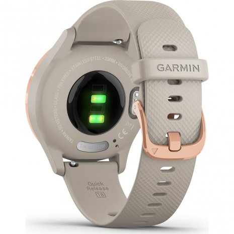 Small hybrid smartwatch with hidden touchscreen Collection Printemps-Eté Garmin
