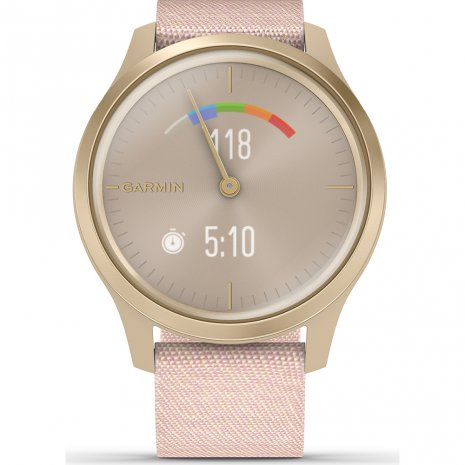 Garmin montre Or