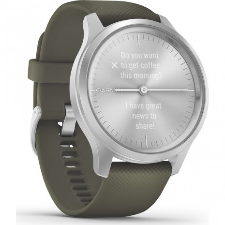 Hybrid smartwatch with hidden touchscreen Collection Printemps-Eté Garmin