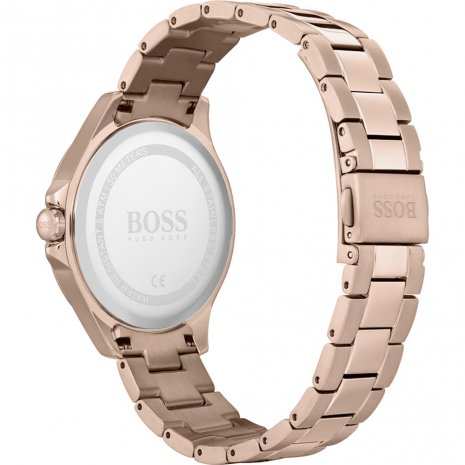 Hugo Boss montre Or Rose