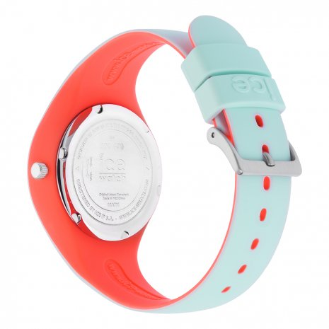 Mint Green & Pink Silicone Watch Size Small Collection Printemps-Eté Ice-Watch
