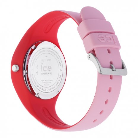 Pink & Red Silicone Watch Size Small Collection Printemps-Eté Ice-Watch