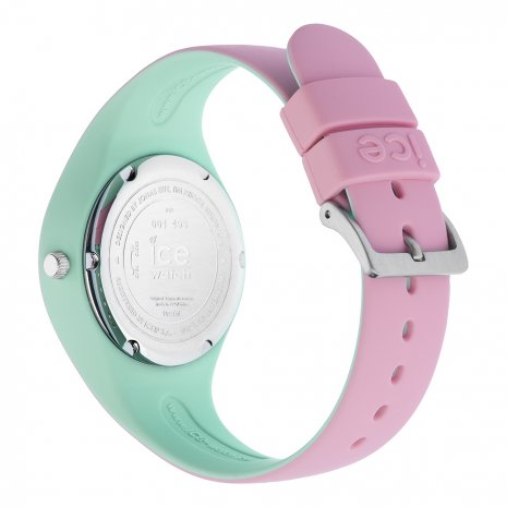 Pink & Mint Green Silicone Watch Size Small Collection Printemps-Eté Ice-Watch