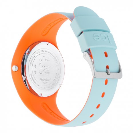 Blue & Orange Silicone Watch Size Medium Collection Printemps-Eté Ice-Watch