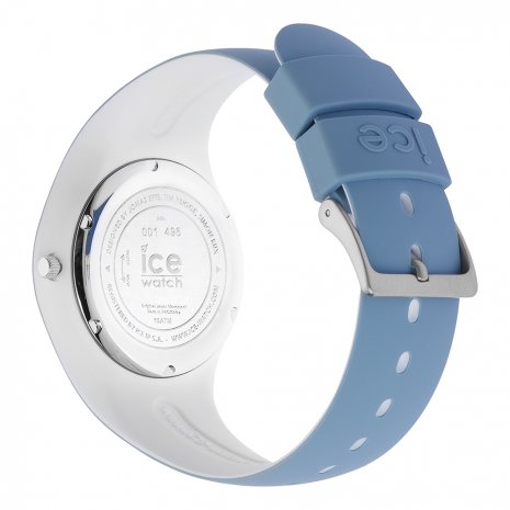 Blue & White Silicone Watch Size Medium Collection Printemps-Eté Ice-Watch