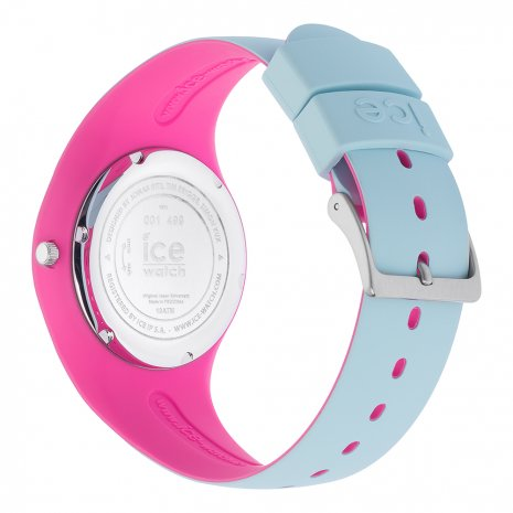 Blue & Pink Silicone Watch Size Medium Collection Printemps-Eté Ice-Watch