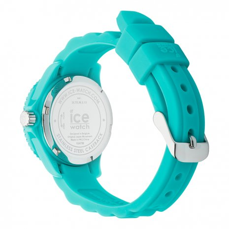 Turquoise Resin Quartz Watch Size XSmall Collection Automne-Hiver Ice-Watch