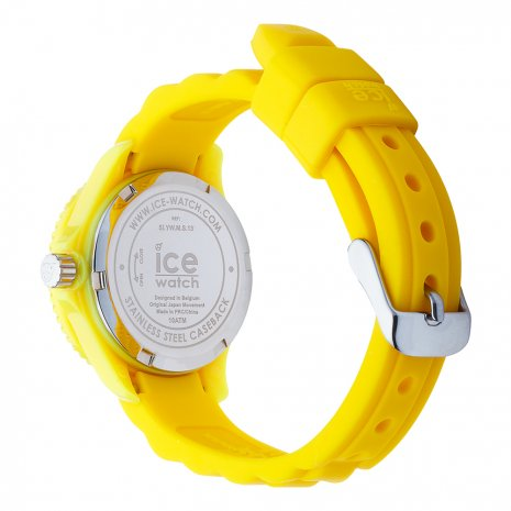 montre jaune Quartz