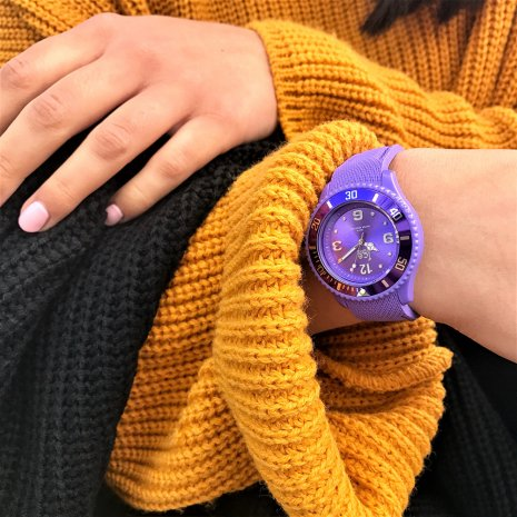 Purple Fashion Quartz Watch Size Medium Collection Printemps-Eté Ice-Watch