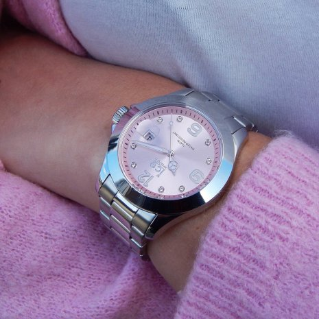 Steel Quartz Watch with Crystals Collection Printemps-Eté Ice-Watch