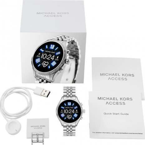 Touchscreen Smartwatch with Steel Bracelet - Gen 5 Collection Automne-Hiver Michael Kors