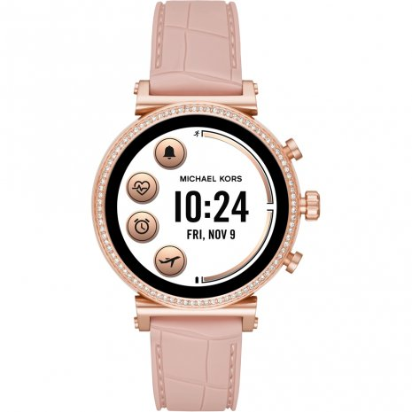 Touchscreen Smartwatch with Silicone Strap - Gen4 Collection Printemps-Eté Michael Kors