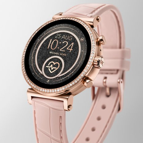 montre Or Rose Smart Digital