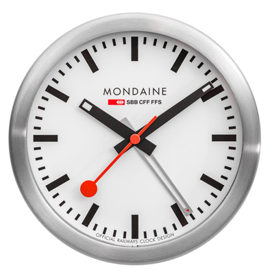 Mondaine Mini Clock Horloge