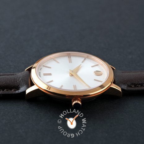 Swiss Made Rose Gold Ladies Design Watch  Movado