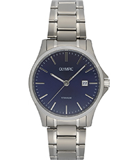 Ferrara 40mm Titanium Gents Quartz Watch with Date