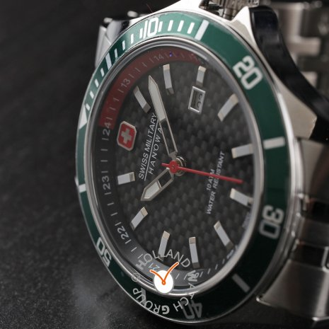 Swiss Military Hanowa montre noir