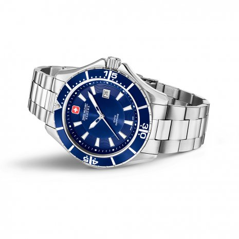 Swiss Military Hanowa montre bleu